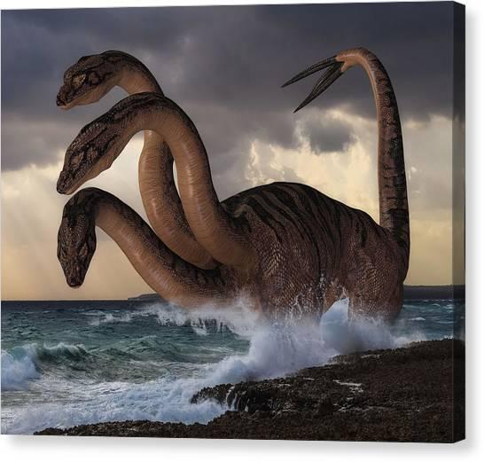Sea Hydra Canvas Print