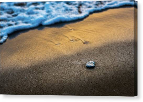 Sea Layers Of Colors Canvas Print