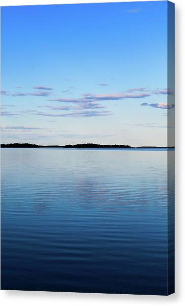 Canvas Print - Sea Meets Sky by Jo Jackson