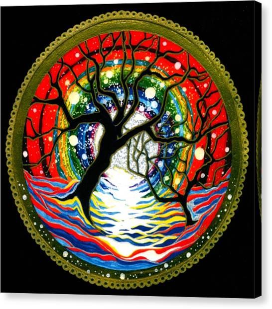 Sea Of Color Canvas Print by Pam Ellis