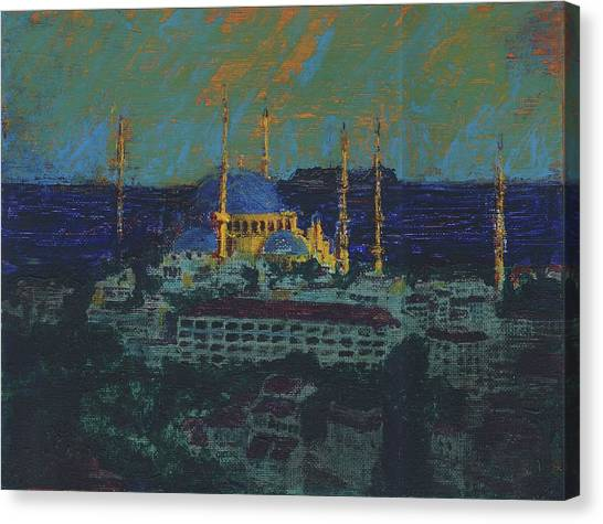 Sea Of Marmara Canvas Print