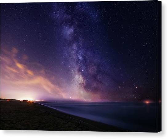 Sea Of Stars Canvas Print