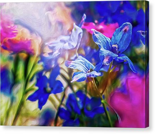 Canvas Print featuring the digital art Sea Of Tranquility by Doctor Mehta