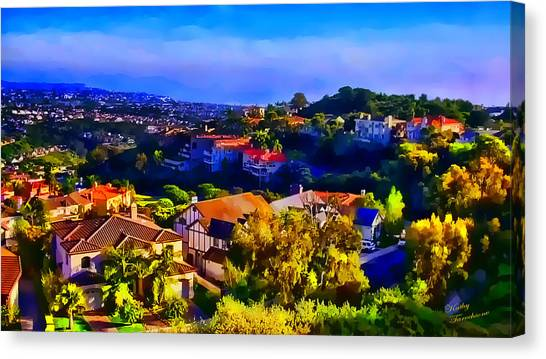 Sea Pointe Estates Canvas Print