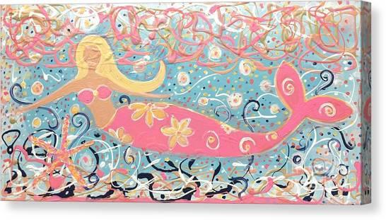 Sea Siren Blondie Canvas Print