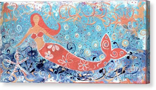 Sea Siren Canvas Print