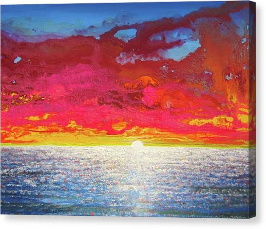Sea Splendor Canvas Print