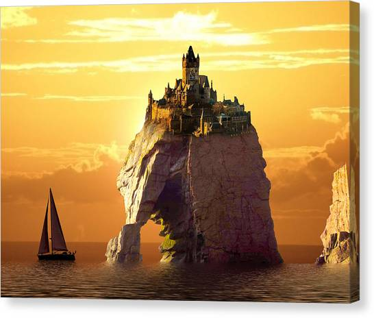 Sea Stack Canvas Print
