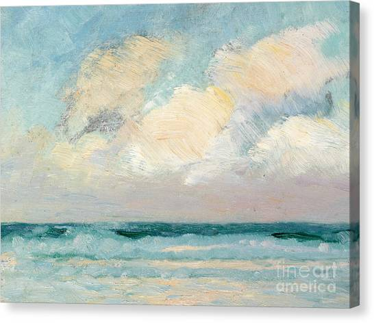 Sky Canvas Print - Sea Study - Morning by AS Stokes