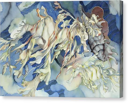 Seadragon Fantasy Canvas Print by Liduine Bekman
