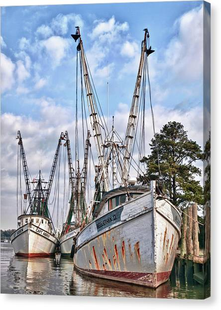 Seafood Searchers Canvas Print