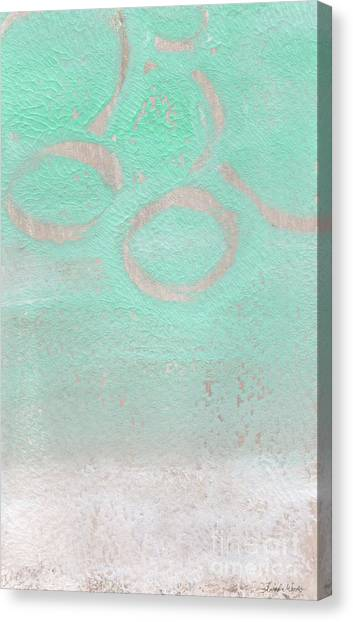 Sands Canvas Print - Seaglass by Linda Woods