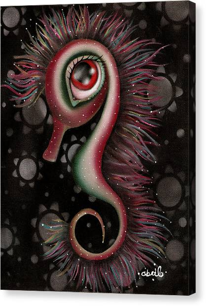 Seahorses Canvas Print - Seahorse by  Abril Andrade Griffith