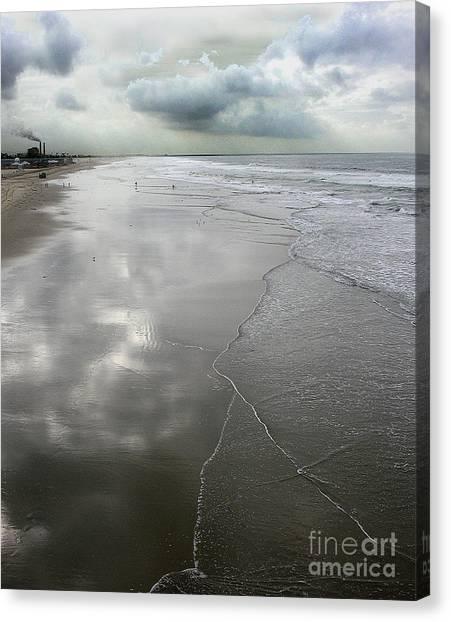 Seal Beach Morning Canvas Print