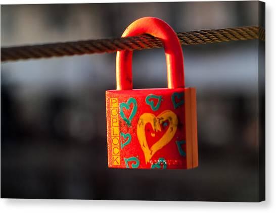 Sealed Love Canvas Print