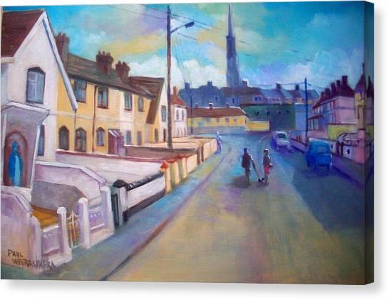 Sean Hueston Place Limerick Ireland Canvas Print