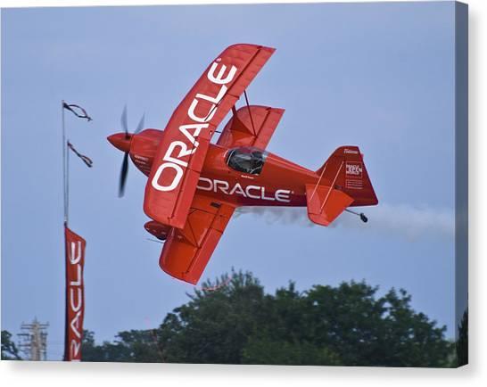 Sean Tucker - Team Oracle Canvas Print
