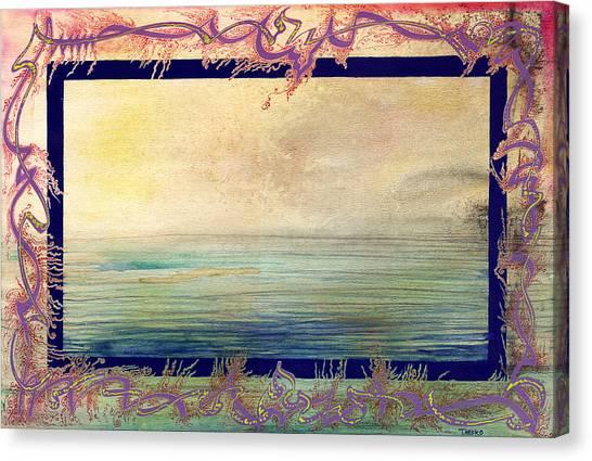 Seanic Wander Canvas Print by Tom Hefko