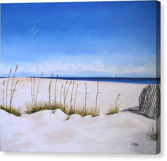 Seaoats Canvas Print