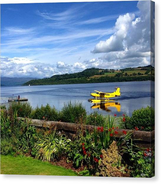 Seaplanes Canvas Print - #seaplane #avgeek #aviation #plane #sky by Carrie Watson