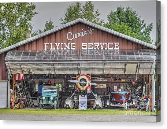 Seaplanes Canvas Print - Seaplane Hanger by Rick Mann