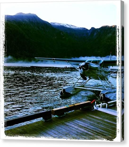 Seaplanes Canvas Print - #seaplane #toba #goodmorning by Matt Study