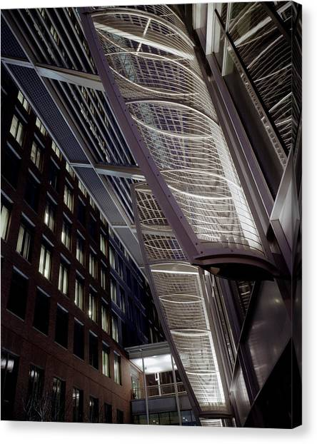 Seaport2 Canvas Print by Robert Ruscansky