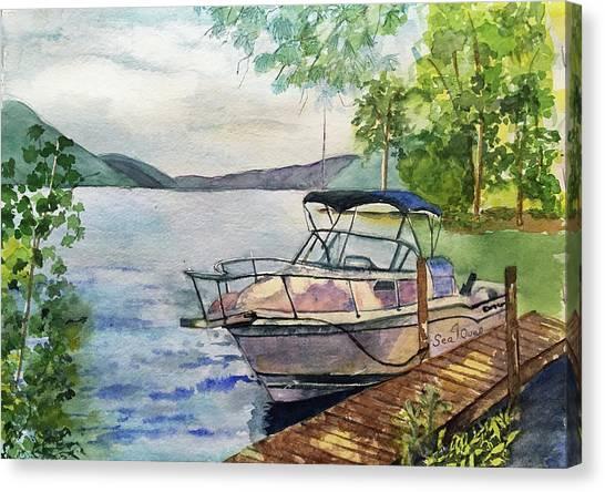 Seaquel At Rest Canvas Print
