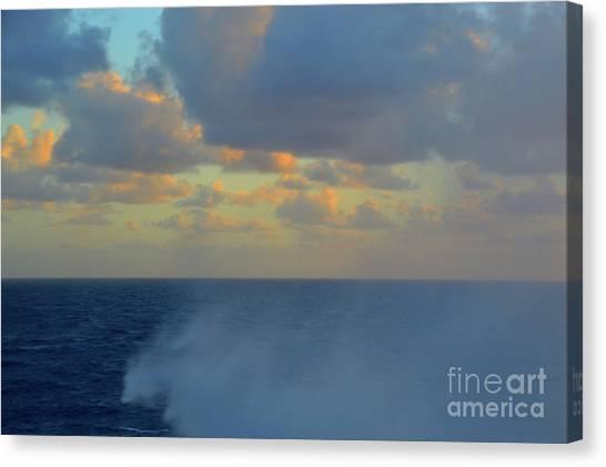 Seas The Day Canvas Print