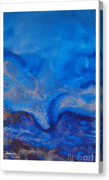 Seascape-1 Canvas Print by Padmakar Kappagantula