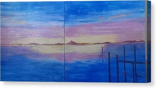 Seascape 7 Canvas Print