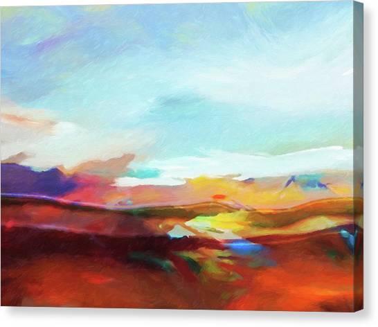 Seascape Expression Canvas Print by Lutz Baar