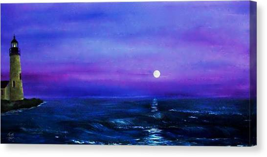 Seascape II Canvas Print by Tony Rodriguez
