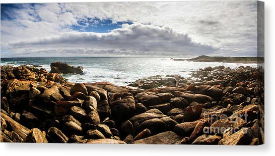 Harbors Canvas Print - Seascape In Harmony by Jorgo Photography - Wall Art Gallery
