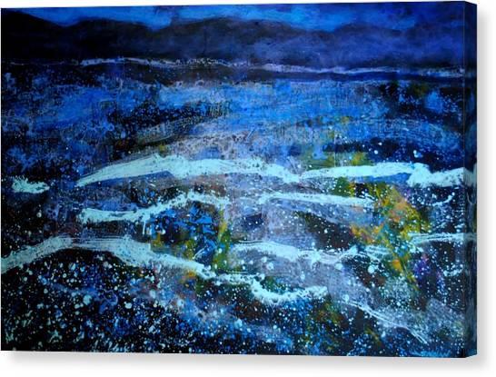 Seascape Canvas Print by John  Nolan