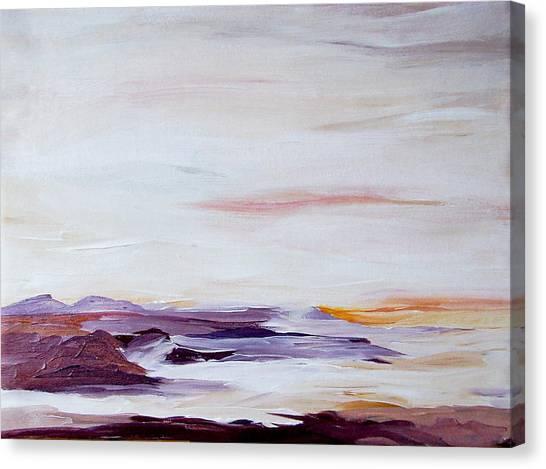 Seascape Nr 2 Canvas Print by Carola Ann-Margret Forsberg