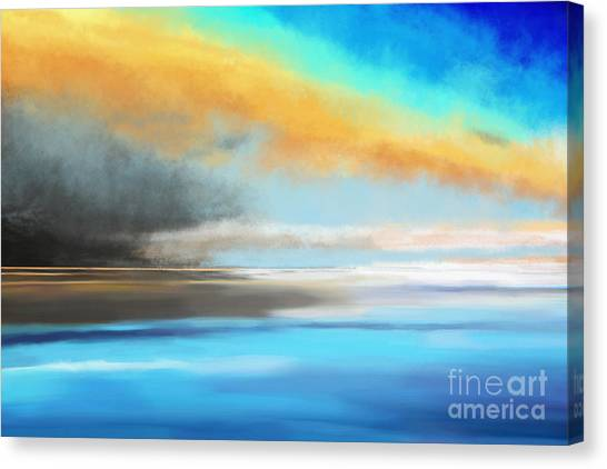 Seascape Painting Canvas Print