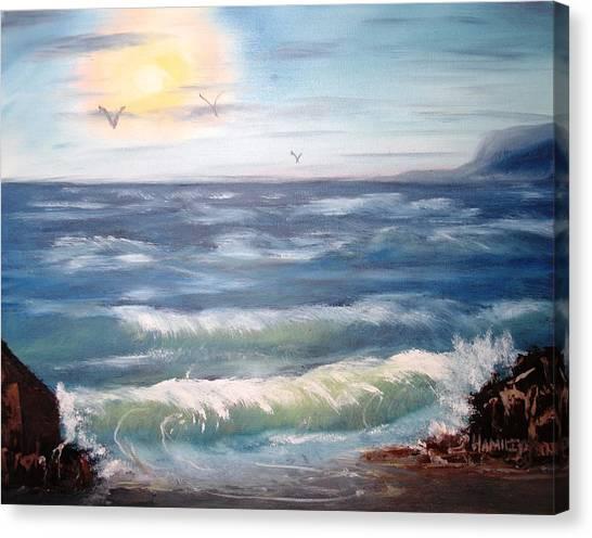 Seascape Study Canvas Print