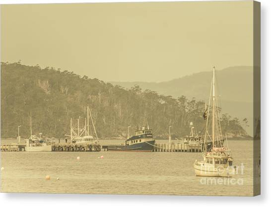 Harbors Canvas Print - Seascapes Of Old by Jorgo Photography - Wall Art Gallery