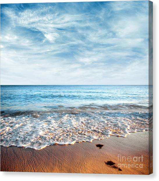 Seashore Canvas Print