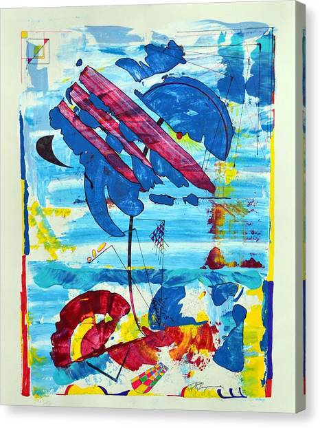 Seashore Holiday Canvas Print