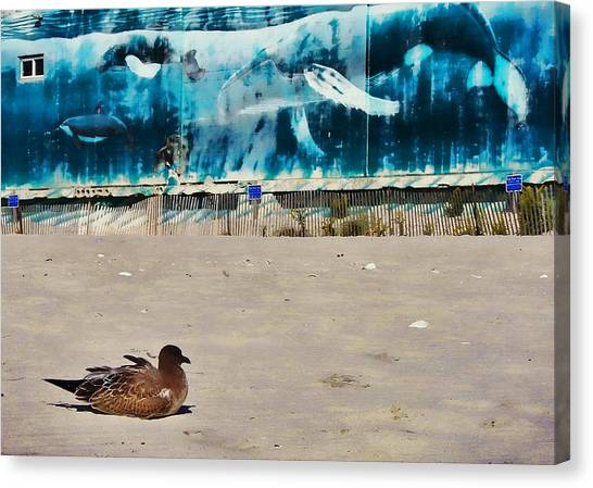 Seaside Art Gallery Canvas Print by JAMART Photography