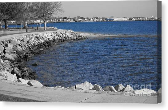 Seaside Blue Canvas Print
