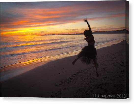 Seaside Dancer Canvas Print