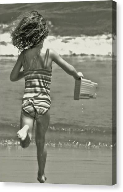 Seaside Excitement Canvas Print by JAMART Photography