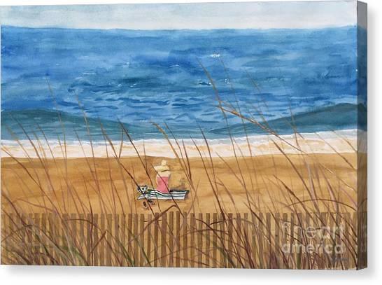 Seaside In Massachusetts Canvas Print