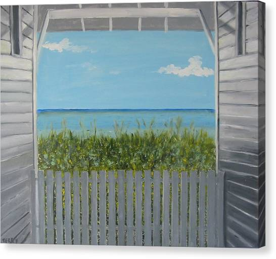 Seaside Canvas Print by John Terry