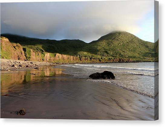 Seaside Reflections, County Kerry, Ireland Canvas Print