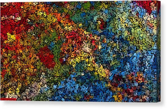 Seasons Canvas Print by Chakanaka Zinyemba