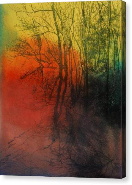 Seasons Change Canvas Print